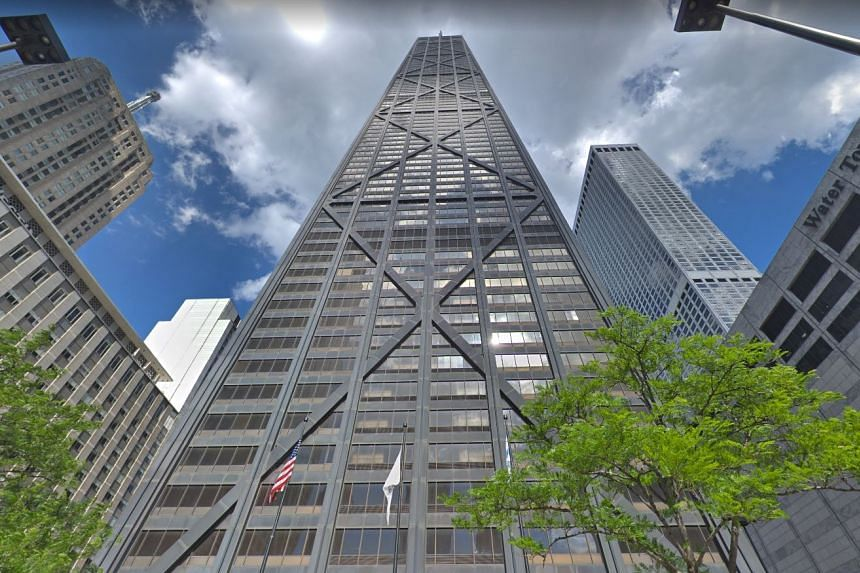 The group of six people was descending from the 95th floor of Chicago's 875 N. Michigan Avenue building, the famous, 100-storey skyscraper formerly known as the John Hancock Center, when the incident occurred.
