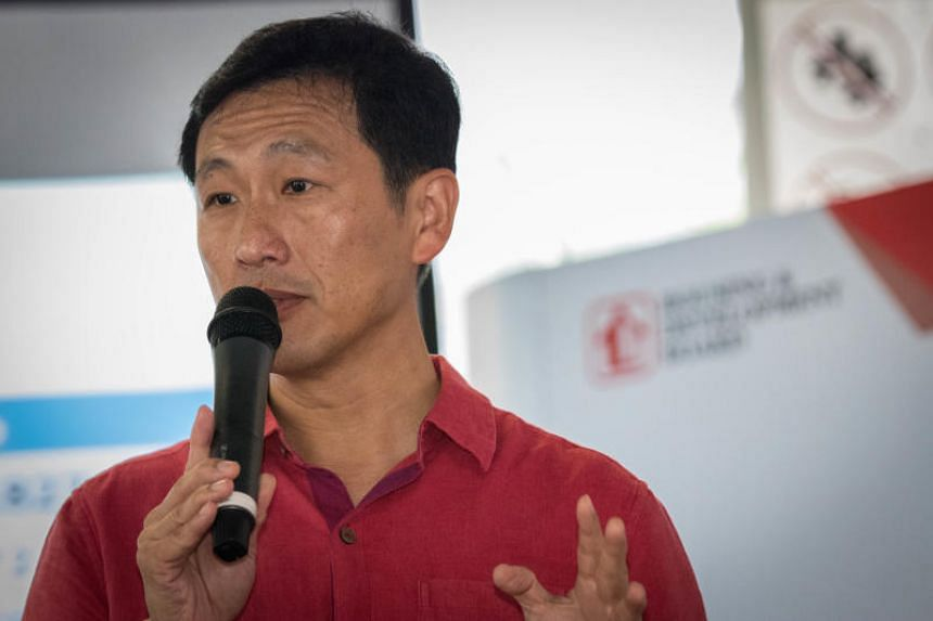"""Education Minister Ong Ye Kung said the visits have become more informal, to allow for more """"authentic"""" interaction and for a more accurate reflection of ground sentiments."""