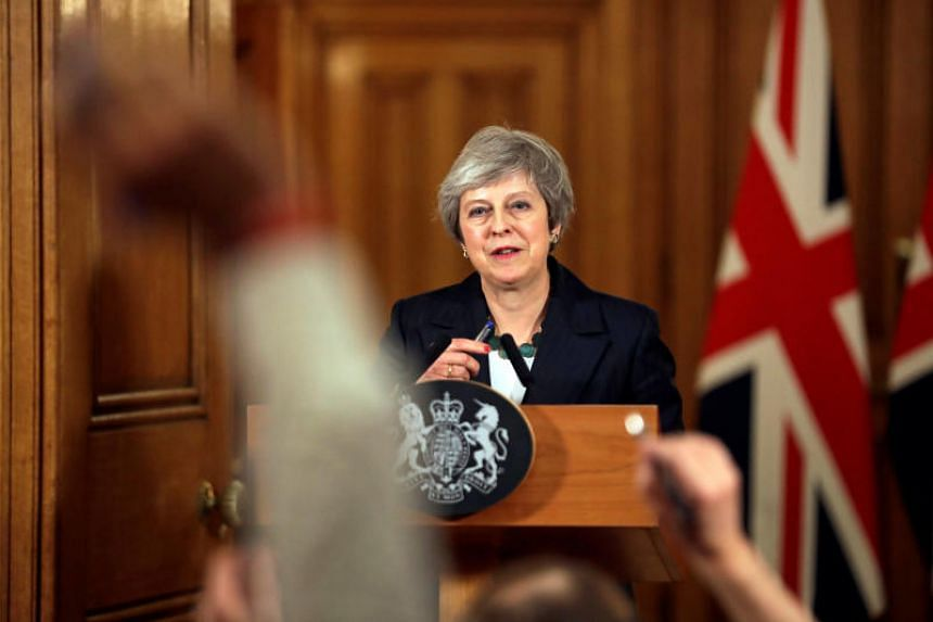 British Prime Minister Theresa May's premiership has been thrust into crisis, with some of her own party members seeking to oust her.