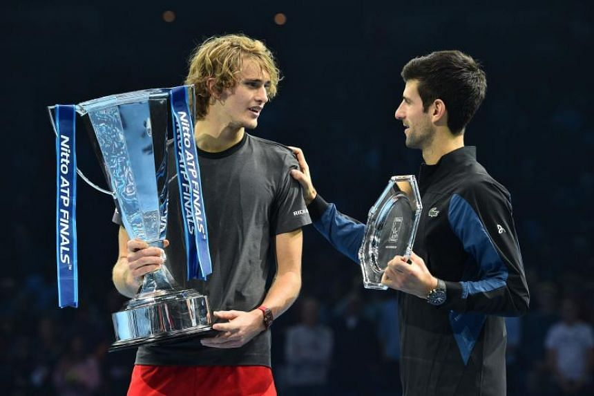 Novak Djokovic faces Alexander Zverev in ATP Finals showpiece