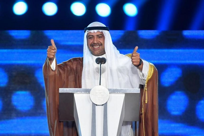 """Sheikh Ahmad al-Fahad al-Sabah said he """"strenuously denies any wrongdoing"""", calling the allegations """"maliciously motivated by political factions within Kuwait""""."""