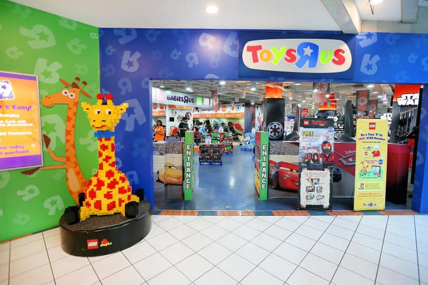 Toys 'R' Us at Forum The Shopping Mall in September 2017. The Toys 'R' Us Asia chain will ramp up investments in information technology and brick-and-mortar retail outlets, including eight in Singapore.