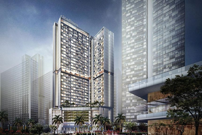 An artist's impression of Citadines Sudirman Jakarta - the first property under the alliance between The Ascott and Ciputra Development Group - which will open in 2021.