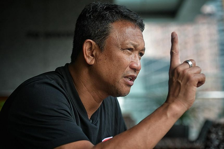 Interim national coach Fandi Ahmad may have made his name in football but, to revive the Lions, he watches National Basketball Association games to get inspirational ideas.