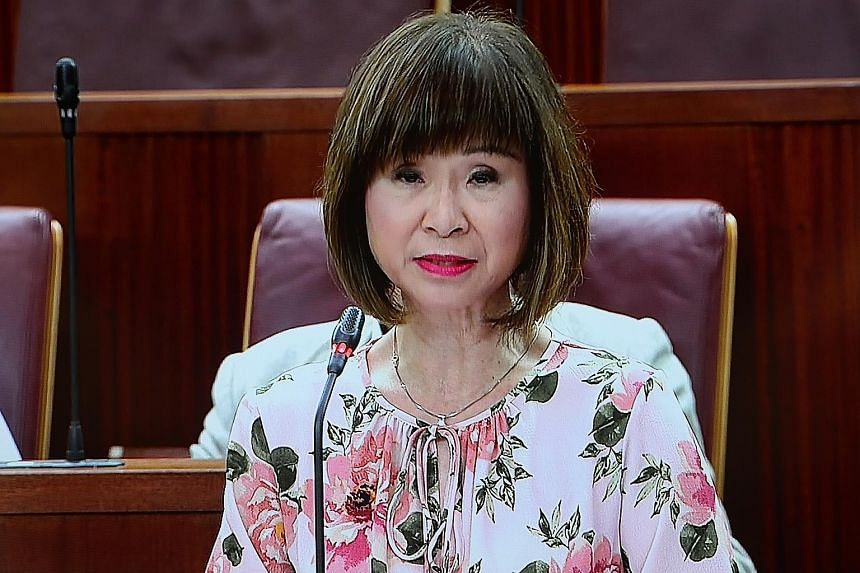 Senior minister of state for the environment and water resources Amy Khor.
