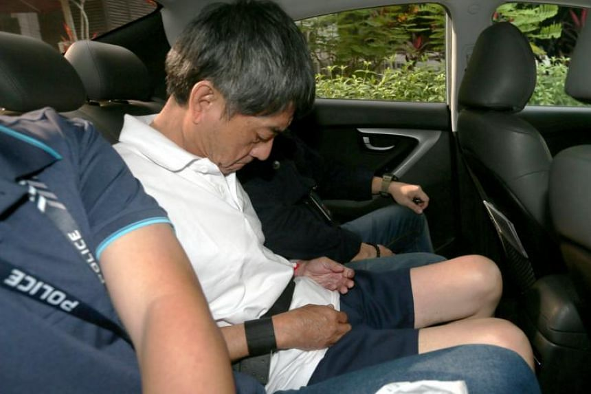 Tan Tian Chye, 64, was charged with murdering his daughter in a unit on the eighth storey of Block 171 Bedok South Road.