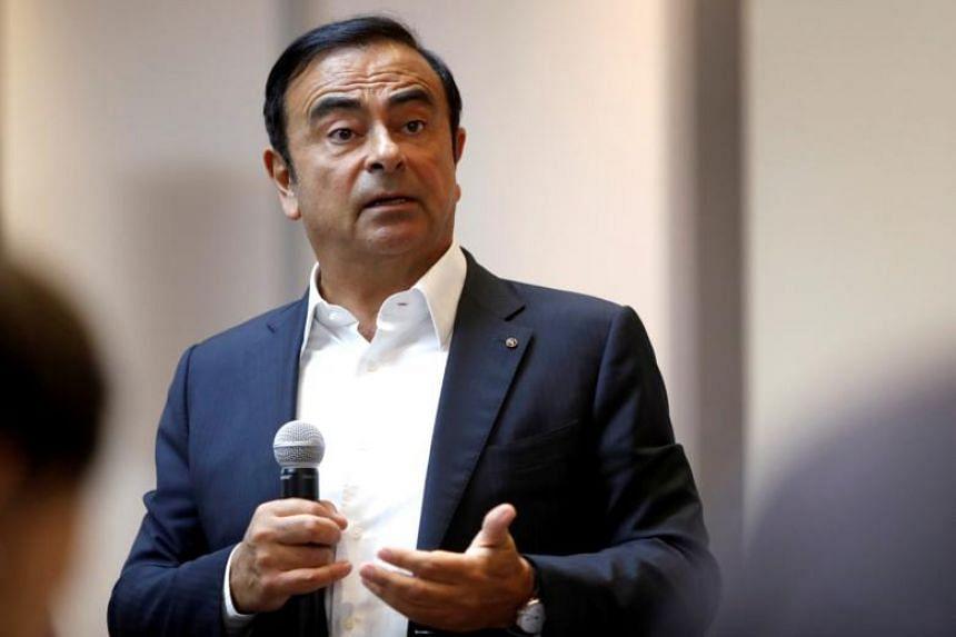 Nissan chairman Carlos Ghosn was arrested in Tokyo, Japan on Nov 19, 2018.