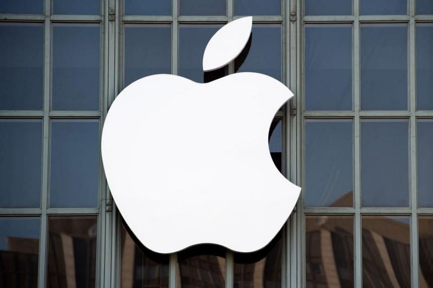 Shares of Apple Inc fell 3.8 per cent after the Wall Street Journal reported the company had cut production orders in recent weeks for all three iPhone models launched in September.af