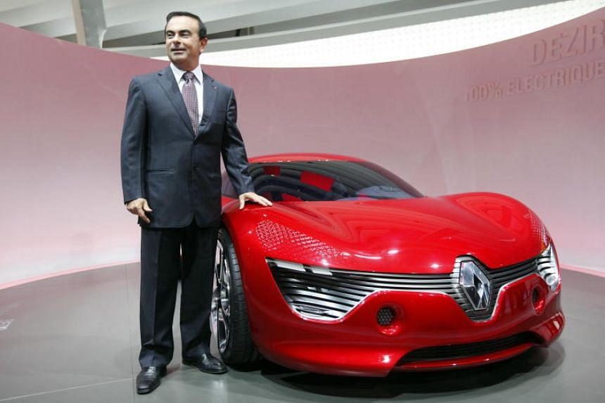 Image result for Auto titan Ghosn arrested over financial misconduct