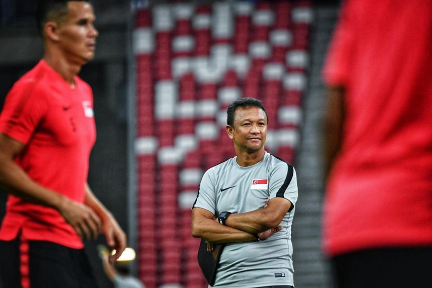 Scoring has been a problem for the Lions but with a semi-final place on the line, interim national coach Fandi Ahmad is calling on his players to bulge the net repeatedly at the National Stadium.