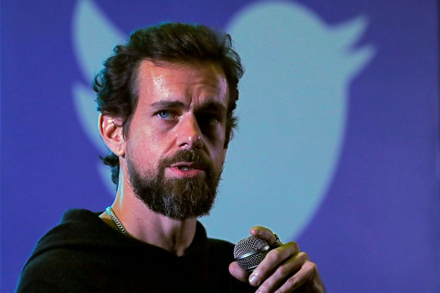 Twitter CEO Jack Dorsey addressing students during a town hall at the Indian Institute of Technology in New Delhi on Nov 12, 2018.