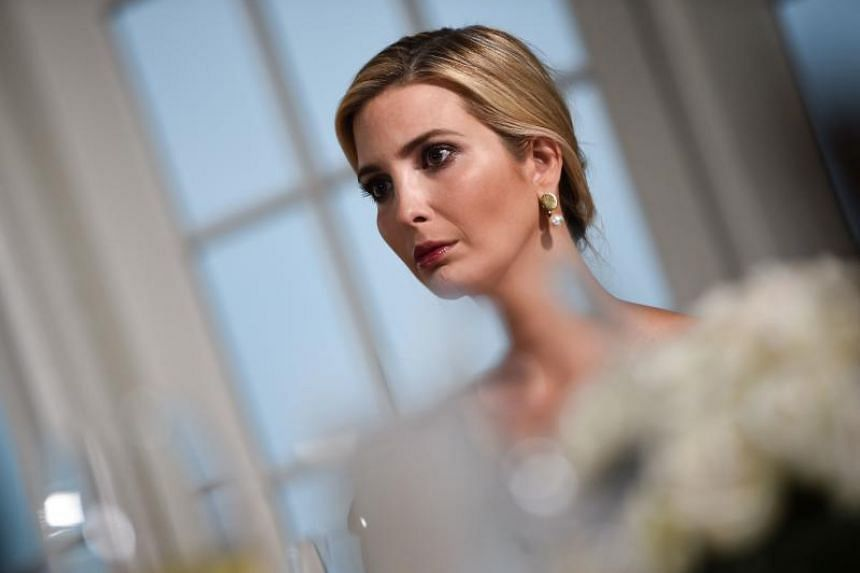 A review of e-mails showed that throughout much of 2017, Ms Ivanka Trump often discussed or relayed official White House business using a private email account with a domain that she shares with her husband, Mr Jared Kushner.