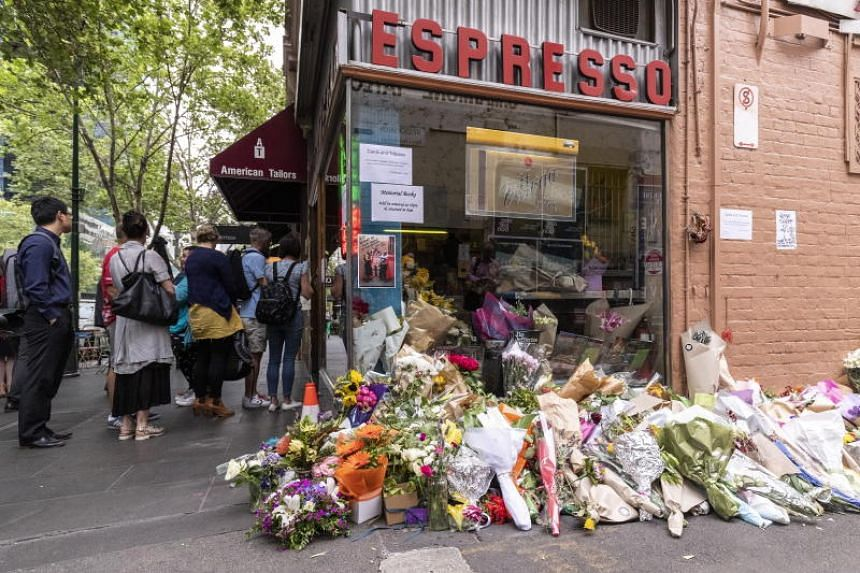 The arrests coincided with a state funeral for Mr Sisto Malaspina, the owner of a local Italian cafe who was a victim of the attack.