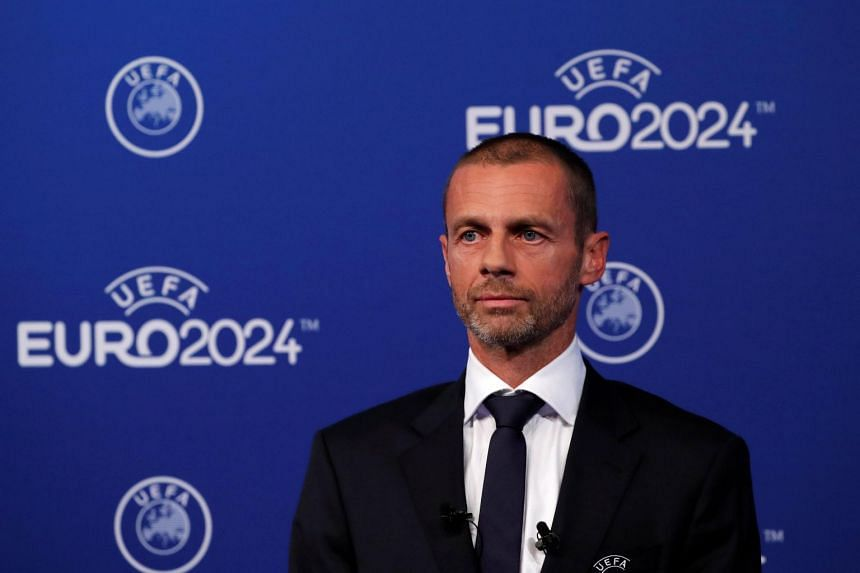 Uefa President Aleksander Ceferin ahead of the announcement for the Euro 2024 Host Announcement, in Nyon, Switzerland, on Sept 27, 2018.
