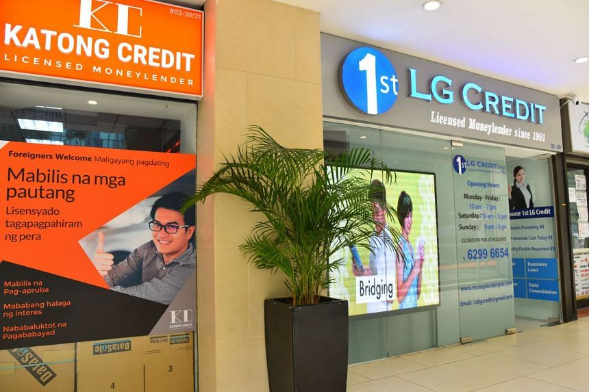 Under new rules announced in October, all Singaporeans and foreigners can apply to be self-excluded in borrowing from licensed moneylenders.