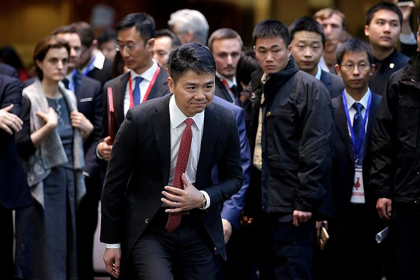 Chinese e-commerce giant JD.com's founder Richard Liu said he will shift his focus to concentrate on new businesses and strategy. US prosecutors are considering whether to charge him over rape allegations.