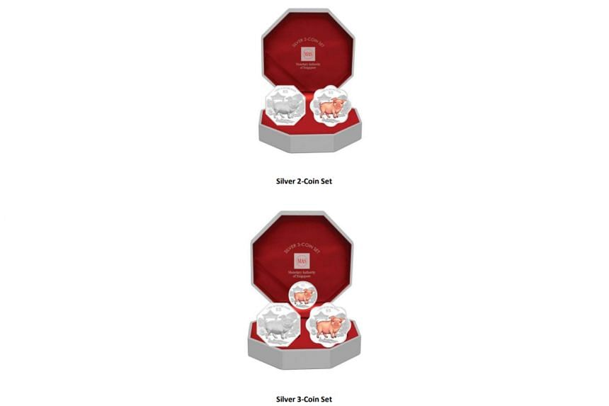 Special premium sets consisting of various coin combinations will also be available.