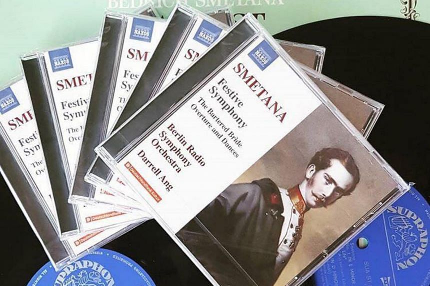 "Darrell Ang's recorded repertoire has been diverse and this disc features the music of Bedrich Smetana (1824-1884), hailed as the ""Father of Czech music""."
