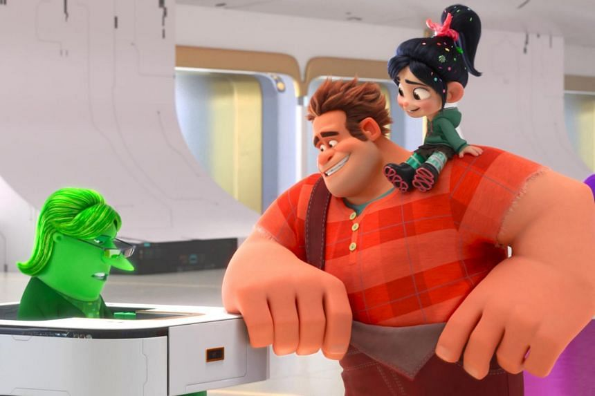 The follow-up from Walt Disney Animation Studios, Ralph Breaks The Internet, is less retro and a lot more grown-up.