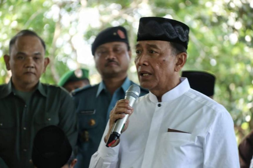 Coordinating Political, Legal and Security Affairs Minister Wiranto wrote a public letter on Nov 19, 2018, to respond to comments about pictures of his family at the funeral of his grandson, Achmad Daniyal Al Fatih.