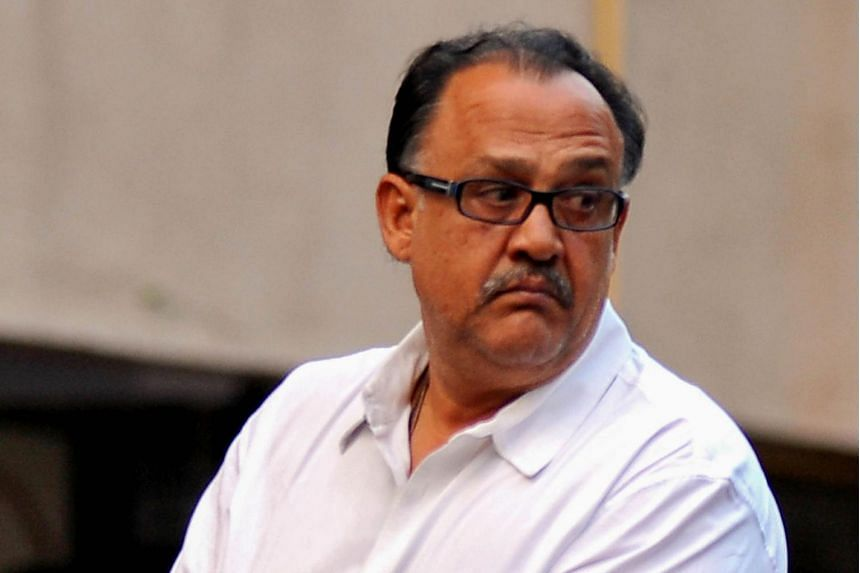 Bollywood actor Alok Nath at a memorial prayer event in Mumbai, on Dec 30, 2013. Indian police said they had registered a rape case against the actor on Nov 21, 2018.