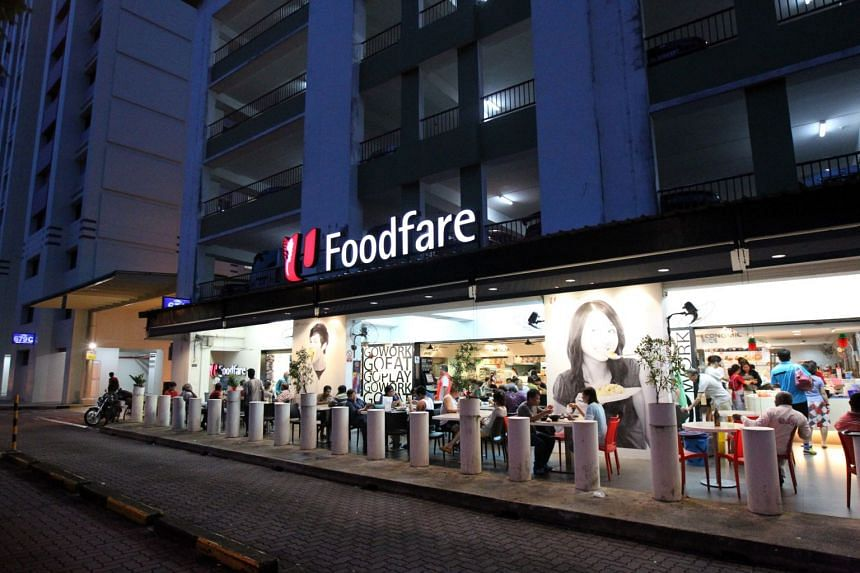 A Foodfare coffee shop in Jurong West on Feb 24, 2016.