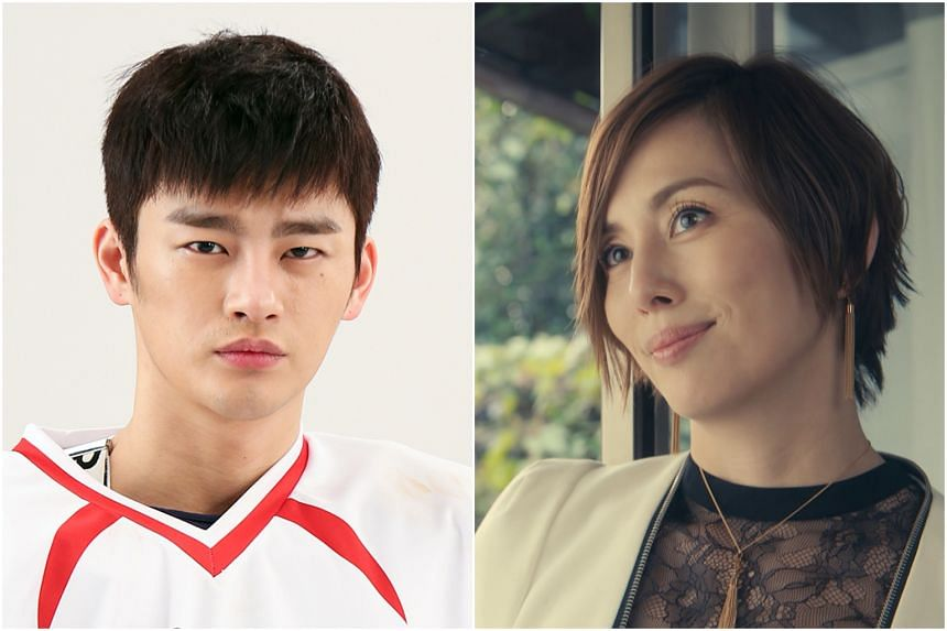 Seo In-guk takes on a darker role in The Smile Has Left Your Eyes (left); Ryoko Yonekura stars in lighthearted drama Legal V.