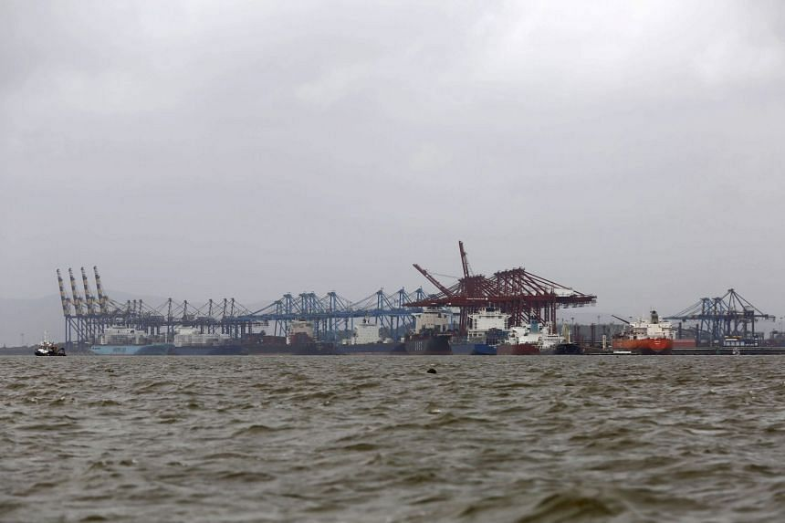 PSA International alleged that Maersk and DP World created entry barriers to hinder the growth of PSA's terminal by colluding on certain charges they levy at the state-owned Jawaharlal Nehru Port Trust (above).