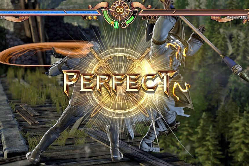 The action in Soulcalibur VI is flashy and a marvel to watch.