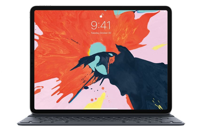 Users getting the iPad Pro as a laptop replacement should pair it with the Smart Keyboard Folio, which covers the front and back of the device.