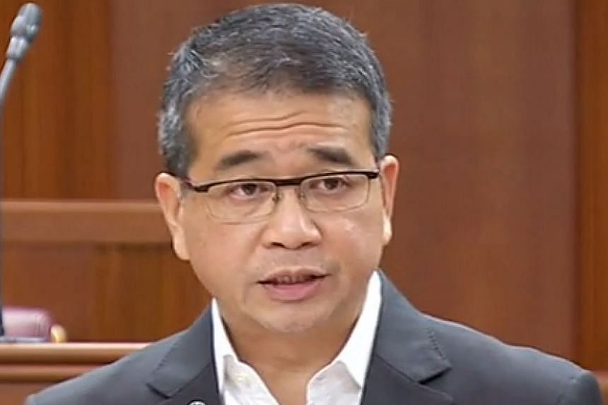 SENIOR MINISTER OF STATE FOR LAW EDWIN TONG