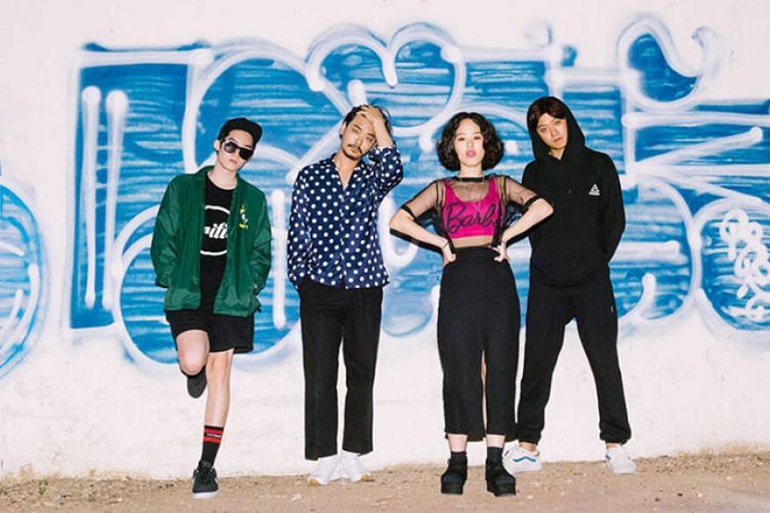 One of South Korea's fastest rising indie bands, ADOY, will be performing for the first time in Singapore, with Singapore's own synthpop group Disco Hue opening for them.