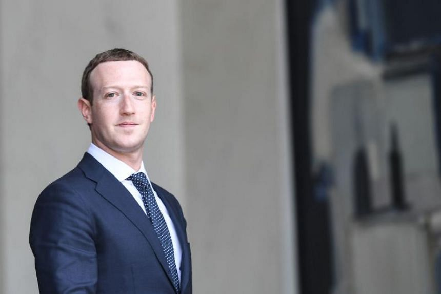 Facebook's CEO Mark Zuckerberg leaves the Elysee presidential palace in Paris, on May 23, 2018.