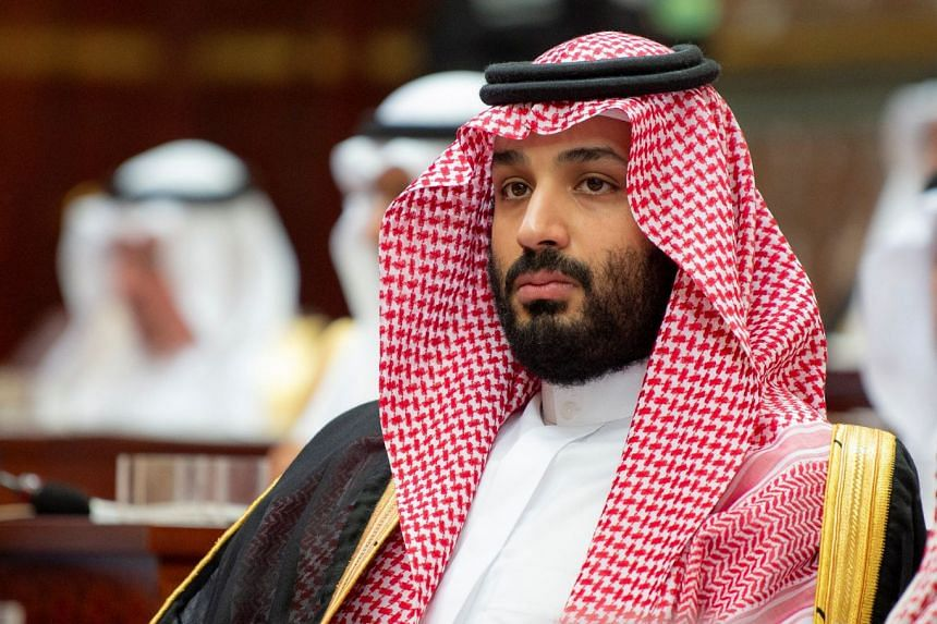 Saudi Crown Prince Mohammed bin Salman attends a session of the Shura Council in Riyadh, Nov 19, 2018.