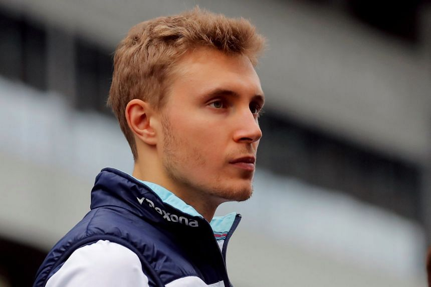 Rookie Sirotkin (above) has scored one point from 20 races to date and is last in the championship.