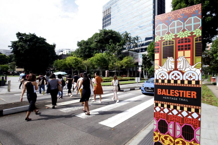 The Balestier heritage trail was originally launched in 2006 but the National Heritage Board conducted fresh research to add 30 new sites to the existing 26.