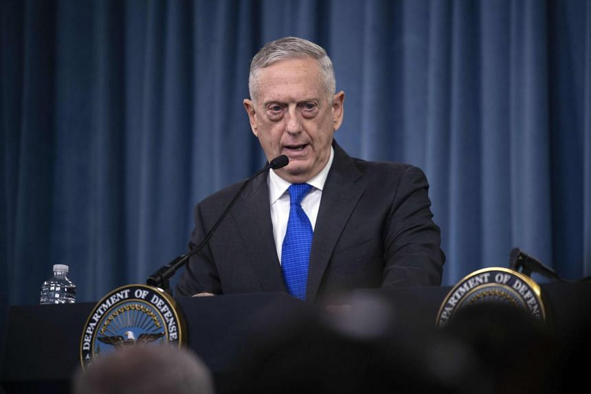 US Defence Secretary Mattis also credited the Saudis with assisting in stepped-up US efforts to bring the Taleban and the Afghan government together for reconciliation talks.