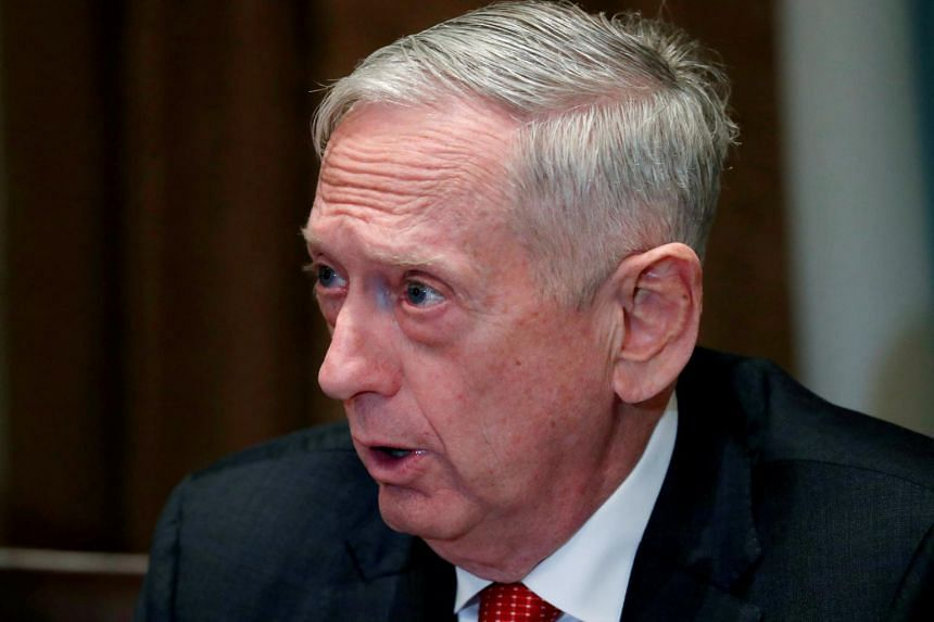 US Defence Secretary James Mattis mentioned one possible instance in which troops might act: defending a border agent who was hit by a rock, and detaining the migrant who threw it.