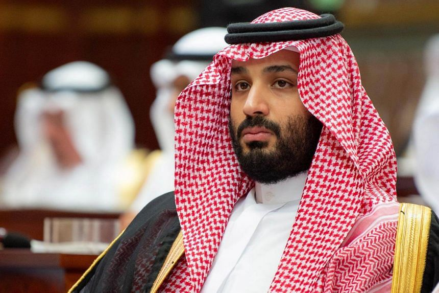 Saudi Crown Prince Mohammed bin Salman attending the inauguration of the Shura Council new session, in Riyadh, Saudi Arabia, on Nov 19, 2018.