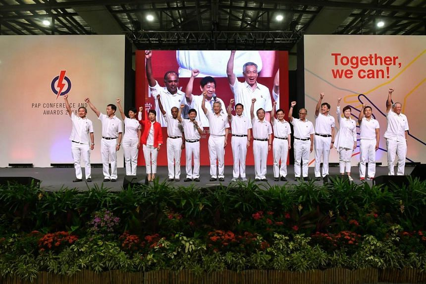 Party sources said the PAP's top decision-making body met on Nov 21, 2018, to finalise its slate of office-holders.