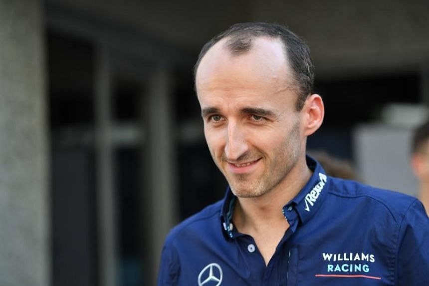 Robert Kubica (above) will partner British rookie George Russell at a once-dominant team that has fallen on hard times and is currently last in the standings.