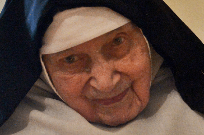 Sister Cecylia Maria Roszak hid Jews from the Nazis during World War II.