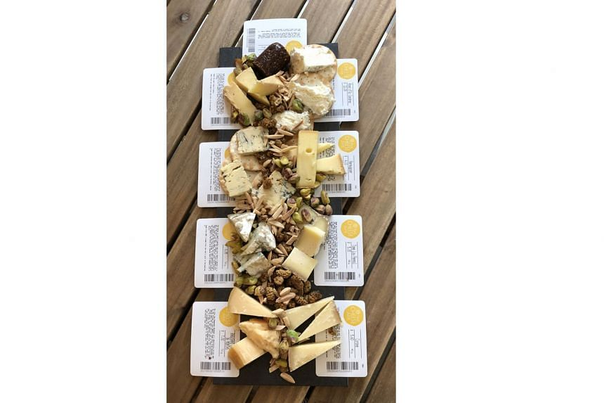 Tasting platters start at $20 a person for eight cheeses at The Cheese Ark.