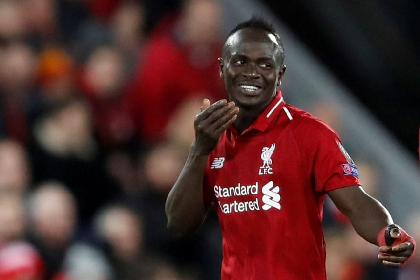 Mane's (above) commitment to the Reds has delighted his manager, whose side are second in the Premier League.