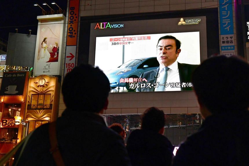Prosecutors are now planing to re-arrest Carlos Ghosn on charges of understating his income by a total of eight billion yen since June 2011, the Asahi Shimbun said.