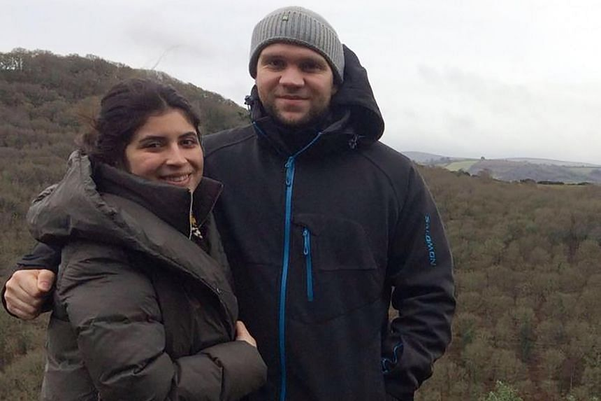 British student Matthew Hedges and his wife Daniela Tejada.