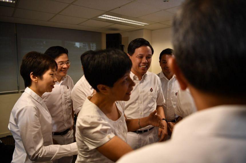 Trade and Industry Minister Chan Chun Sing was selected as second assistant secretary-general of the People's Action Party.
