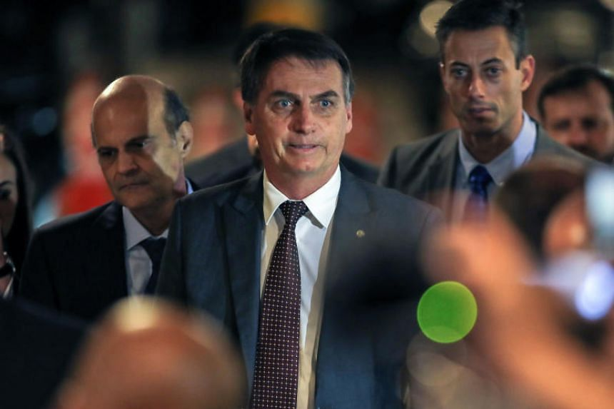 """Brazil's far-right President-elect Jair Bolsonaro said the Cuban doctors were being used as """"slave labour"""" because the Cuban government took 75 per cent of their salaries."""