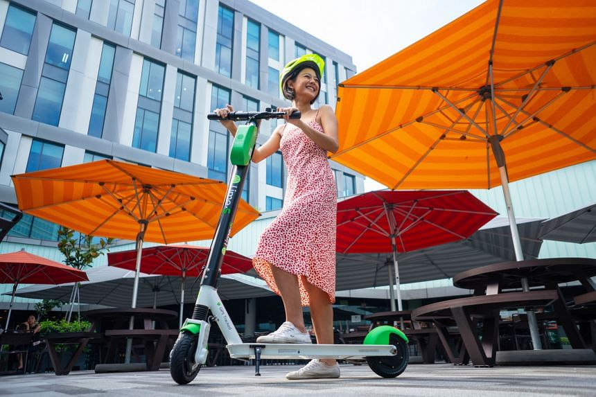 Lime's e-scooters are deployed at Singapore Science Park 1 and 2, through a partnership with property developer Ascendas-Singbridge. The devices cost $1 to unlock, and 20 cents for every minute they are used.