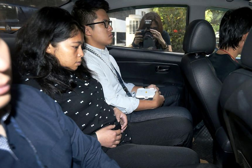 Maryani Usman Utar, 25, caused the death of one-year-old baby girl Richelle Teo Yan Jia at the family's flat in Simei on May 8, 2016.